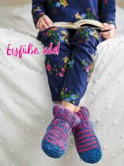 Strickanleitung - Eisfüße ade - Simply Kreativ – Best of Simply Stricken Socken