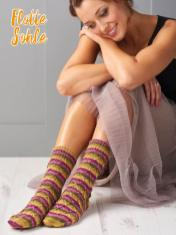 Strickanleitung - Flotte Sohle - Simply Kreativ – Best of Simply Stricken Socken