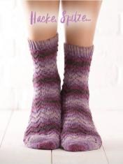 Strickanleitung - Hacke, Spitze ... - Simply Kreativ – Best of Simply Stricken Socken