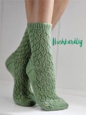 Strickanleitung - Hochkarätig - Simply Kreativ – Best of Simply Stricken Socken