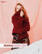 Strickanleitung - Jäckchen, wechsel dich - Fantastische Herbst-Strickideen 05/2019