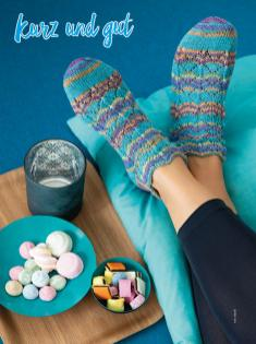 Strickanleitung - Kurz und gut - Simply Kreativ – Best of Simply Stricken Socken