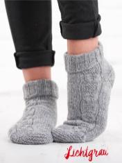 Strickanleitung - Lichtgrau - Simply Kreativ – Best of Simply Stricken Socken