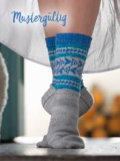 Strickanleitung - Mustergültig - Simply Kreativ – Best of Simply Stricken Socken