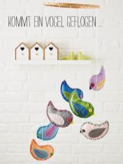 Nähanleitung - Kommt ein Vogel geflogen - Best of Simply Nähen Home-Deko & Accessoires