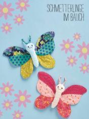 Nähanleitung - Schmetterlinge im Bauch - Best of Simply Nähen Kuscheltiere