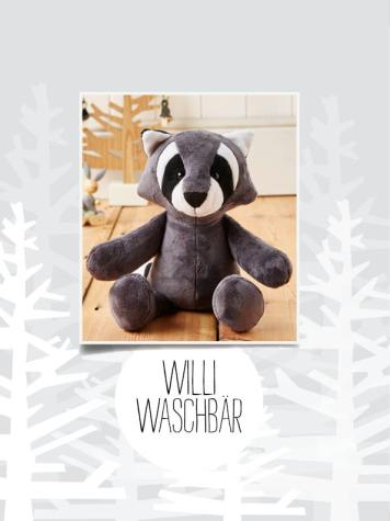 Nähanleitung - Willi-Waschbär - Best of Simply Nähen Kuscheltiere
