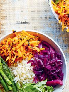 Rezept - Bibimbap - Healthy Vegan Sonderheft - Vegan Jahrbuch