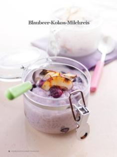 Rezept - Blaubeer-Kokos-Milchreis - Healthy Vegan Sonderheft - Vegan Jahrbuch