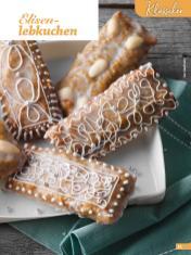Rezept - Elisenlebkuchen - Weihnachtsbäckerei 01/2019