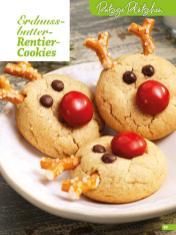 Rezept - Erdnussbutter-Rentier-Cookies - Weihnachtsbäckerei 01/2019