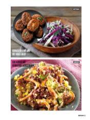 Rezept - Hähnchenhacksteaks mit Kraut-Salat & Lollo Rosso mit gebratenen Lachsstreifen - Bewusst Low Carb Sonderheft: 4 Kilo in 30 Tagen - 01/2020