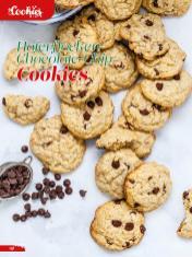 Rezept - Haferflocken-Chocolate-Chip-Cookies - Simply Backen Sonderheft Weihnachtsbacken mit Janet & Jasmin 01/2019