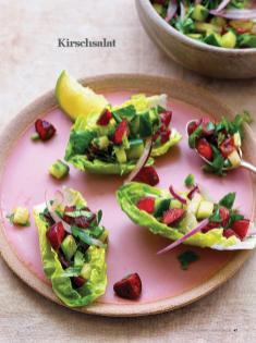 Rezept - Kirschsalat - Healthy Vegan Sonderheft - Vegan Jahrbuch