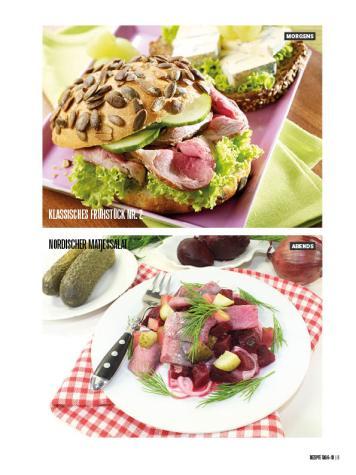 Rezept - Klassisches Frühstück Nr. 2 & Nordischer Matjessalat - Bewusst Low Carb Sonderheft: 4 Kilo in 30 Tagen - 01/2020