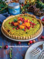 Rezept - Kürbis-Grünkohl-Tarte - Healthy Vegan Sonderheft - Vegan Jahrbuch