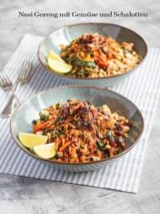 Rezept - Nasi-Goreng mit Gemüse und Schalotten - Healthy Vegan Sonderheft - Vegan Jahrbuch