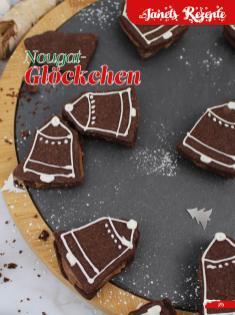 Rezept - Nougat-Glöckchen - Simply Backen Sonderheft Weihnachtsbacken mit Janet & Jasmin 01/2019
