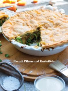 Rezept - Pie mit Pilzen und Kartoffeln - Healthy Vegan Sonderheft - Vegan Jahrbuch