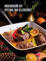 Rezept - Rinderroulade mit Spitzkohl und Selleriepueree - Bewusst Low Carb Sonderheft – 03/2019
