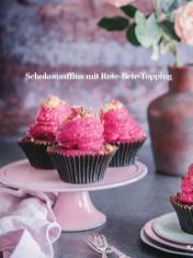 Rezept - Schokomuffins mit Rote-Bete-Topping - Healthy Vegan Sonderheft - Vegan Jahrbuch