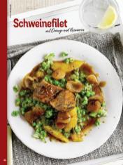 Rezept - Schweinefilet mit Orange und Rosmarin - Simply Kochen Weihnachts-Menü – 05/2019