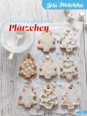Rezept - Tannnenbaum-Plätzchen - Simply Backen Sonderheft Weihnachtsbacken mit Janet & Jasmin 01/2019