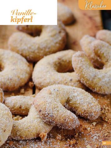 Rezept - Vanillekipferl - Weihnachtsbäckerei 01/2019