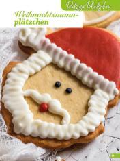 Rezept - Weihnachtsmannplätzchen - Weihnachtsbäckerei 01/2019