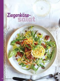 Rezept - Ziegenkäsesalat - Simply Kochen Weihnachts-Menü – 05/2019