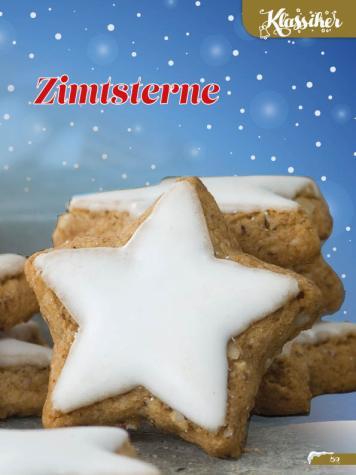 Rezept - Zimtsterne - Simply Backen Sonderheft Weihnachtsbacken mit Janet & Jasmin 01/2019