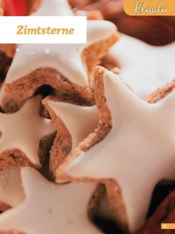 Rezept - Zimtsterne - Weihnachtsbäckerei 01/2019