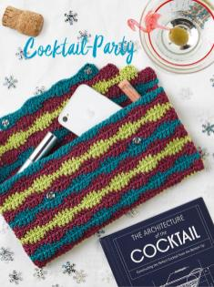 Strickanleitung - Cocktail-Party - Best of Simply Stricken & Häkeln Taschen + Etuis 02/2019