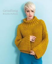 Strickanleitung - Geradlinig - Brioche-Pullover - Designer Knitting 06/2019