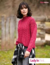 Strickanleitung - Lady in Pink - Fantastische Winter-Strickideen 06/2019