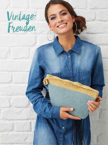 Strickanleitung - Vintage-Freuden - Best of Simply Stricken & Häkeln Taschen + Etuis 02/2019