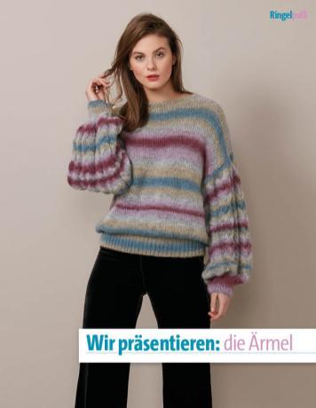 Strickanleitung - Wir präsentieren die Ärmel - Fantastische Winter-Strickideen 06/2019