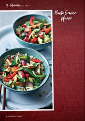 Rezept - Bunte Gemüsepfanne - Vegan Food & Living – 01/2020