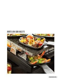 Rezept - Buntes Low-Carb-Raclette - Bewusst Low Carb – 01/2020