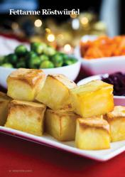 Rezept - Fettarme Röstwürfel - Vegan Food & Living – 01/2020