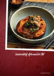 Rezept - Linseneintopf afrikanischer Art - Vegan Food & Living – 01/2020