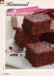 Rezept - Rote-Bete-Brownies - Das große Backen 01/2020