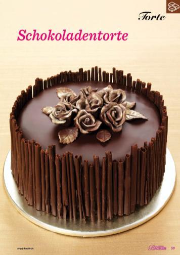 Rezept - Schokoladentorte - Das große Backen 01/2020