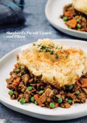 Rezept - Shepherd's Pie mit Linsen und Pilzen - Vegan Food & Living – 01/2020
