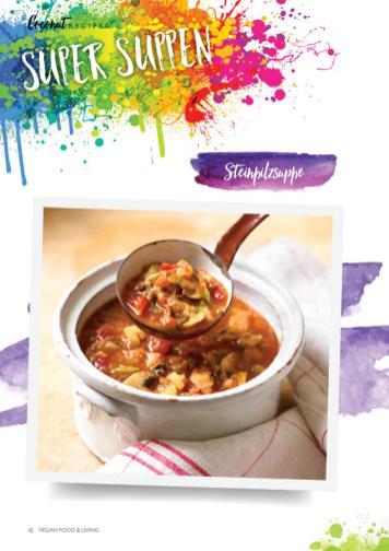 Rezept - Steinpilzsuppe - Vegan Food & Living – 01/2020