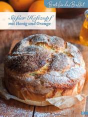 Rezept - Süßer Hefezopf mit Honig und Orange - Simply Backen Fingerfood – 05/2019
