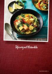 Rezept - Tofucurry mit Reisnudeln - Vegan Food & Living – 01/2020