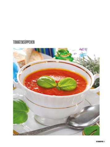 Rezept - Tomatensüppchen - Bewusst Low Carb – 01/2020