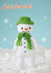 Strickanleitung - Let it Snowman - Simply Stricken 01/2020