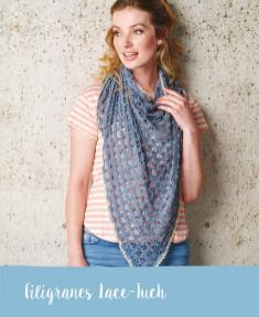 Häkelanleitung - Filigranes Lace-Tuch - Mini Häkeln Vol. 12 Schals & Tücher